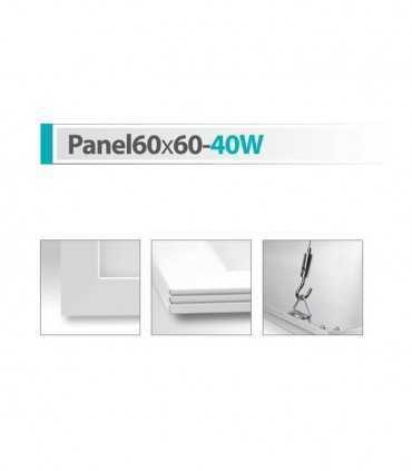 پنل سقفی شعاع مدل Panel60x60-40W پنل مربع