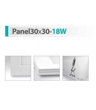 پنل سقفی شعاع مدل Panel30x30-18W پنل مربع