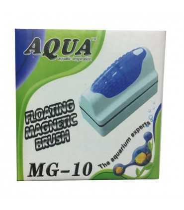 پاک کننده مغناطیسی شیشه آکواریوم آکوا مدل MG-10Aqua MG- پاک کننده شیشه