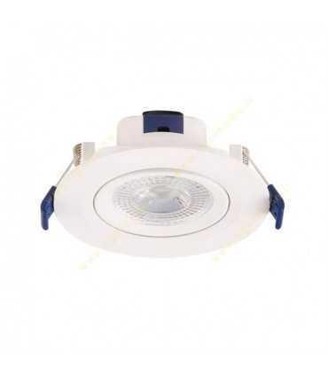 چراغ پنلی SMD توکار 7 وات شعاع SH-L1DL-7W چراغ ها پنلی