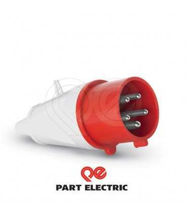 سوکت ثابت 16*5 -IP44 سوکت صنعتی پارت الکتریک
