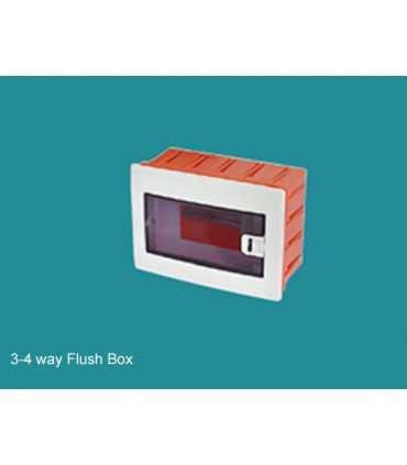 جعبه فیوز توکار چهار تایی میرسا جعبه فیوز