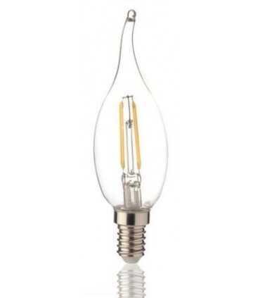 لامپ 5 وات فیلامنتی اشکی نمانور (هالی استار) لامپ ال ای دی