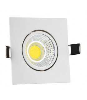 چراغ COB سیلندری مربع نمانور پنل سیلندری