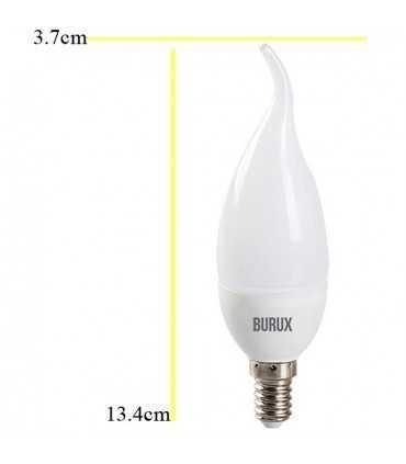 لامپ اشکی ال ای دی 3 وات بروکس لامپ ال ای دی توپی