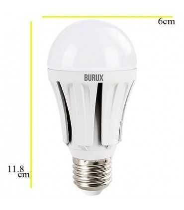 لامپ ال ای دی 12 وات بروکس A60-ALRC لامپ ال ای دی توپی