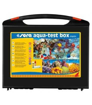 کیف تست آب شور Sera aqua test Box marine تستر آب