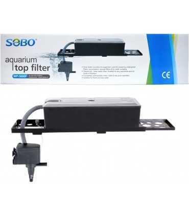 تاپ فیلتر تصفیه آب آکواریوم wp-3880F سوبو فیلتر اکسترنال (خارجی)