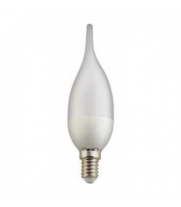لامپ ال ای دی اشکی 5 وات نمانور با سرپیچ E14 لامپ ال ای دی توپی