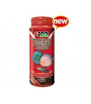 AZOO 9 IN 1 DISCUS PELLET غذا آب شیرین
