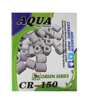 سرامیک آکواریوم آکوا بسته 150 گرمی مواد داخل فیلتر