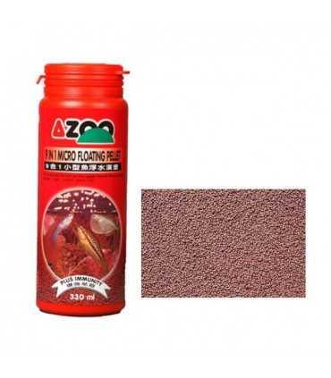 غذای آزو میکرو فلوتینگ پلت 135 گرمی غذا آب شیرین