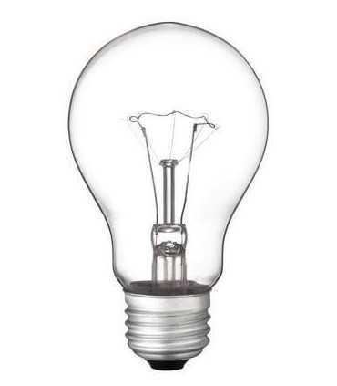 لامپ رشته ای60 وات شفاف لامپ رشته ای